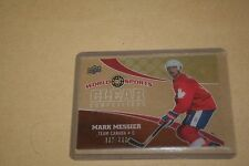 Mark Messier 2010 UD Athletes of the World # CC-17 Clear Competitors # 332/550
