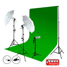 LimoStudio Photography Studio Photo Video Continuous Umbrella Light Lighting Kit