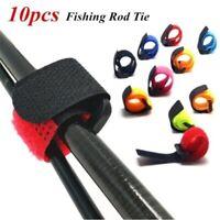 10pcs Nylon Magic Tape Cable Cord Tie Fastener Straps Wire Holder Organizer