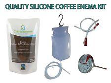 COFFEE ENEMA STARTER KIT - QUALITY SILICONE BAG 2L - GERSON AUSTRALIA - ORGANIC