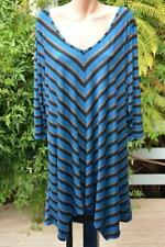 Tunic Striped Plus Size Jumpers & Cardigans for Women