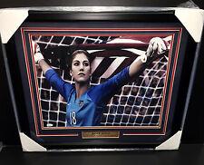 Hope Solo Team Usa World Cup Signed Autographed Framed 16X20 Photo Jsa Coa