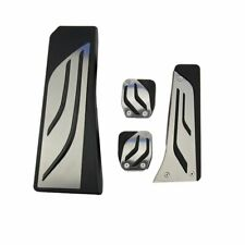 Stainless Steel Pedals Set Foot Rest Covers For BMW F06 F07 F10 F11 F12 F13 МT