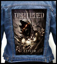 DISTURBED - Asylum --- Giant Backpatch Back Patch