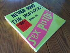 SEX PISTOLS Never Mind The Bollocks 2012 Limited Remastered CD & DVD Box set NEW