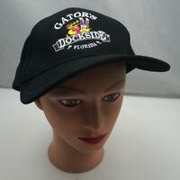 Gator's Dockside Florida Hat Black Adjustable Baseball Cap Pre-Owned ST20