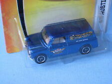 Matchbox AUSTIN MINI VAN MCCH Convention Gathering 2007 bleu rare