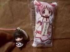 Puella Magi Madoka Magica Japan Strap Lot Madoka Cushion & Homura Figure Anime