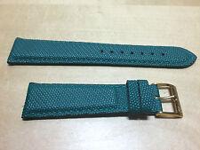 New - MORELLATO Green Leather Strap 20 mm - Correa Piel Verde 20 mm