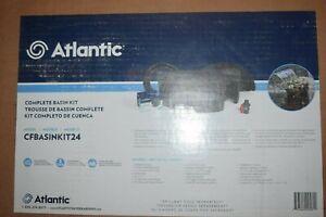 """Atlantic CFBASINKIT Fountain Basin and Pump Kit 24"""""""