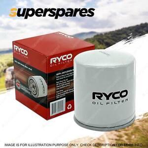 Ryco Oil Filter for PORSCHE 911 Boxter Cayenne Cayman R2855P - Premium Quality