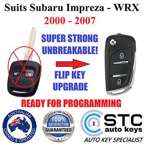 suits Subaru Impreza WRX Remote Flip key 2000 2001 2002 2003 2004 2005 2006 2007