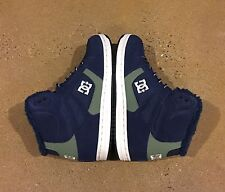DC Rebound High WNT Women's Size 5 US Navy BMX Skate Shoes Sneakers
