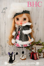 BHC FN694 Piano Snow Dress Set for Kenner Blythe doll outfit