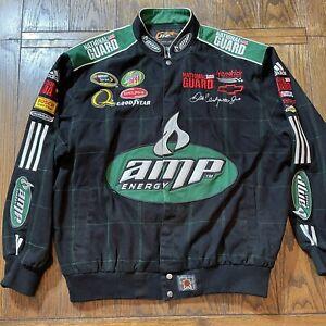 Dale Earnhardt Jr. Jacket Amp Energy National Guard Nation Coat XL