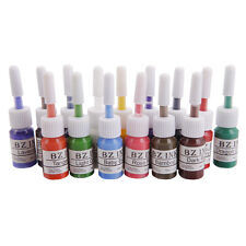 New 15Pcs Color Tattoo Inks Set 0.2oz 5ML Pigment Kit for Body Art