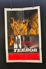 "Terror - Original theater ""one-sheet"" movie poster NSS#790088"