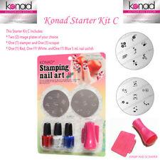 KONAD Nail Art STARTER KIT SET C - CREATE YOUR OWN KIT
