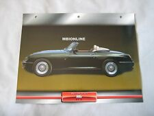 MG RV8 Dream Cars Card