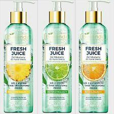Bielenda Fresh Juice Micellar Washing Face Gel with Bioactive Citrus Water 190g