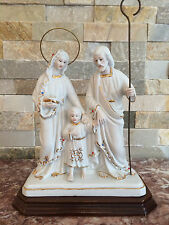 Religious statue Family Statue Joseph Baby Jesus Mary Made in Portugal