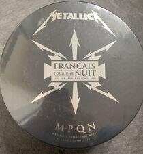 More details for metallica français pour une nuit  new sealed  ltd edn box cd/dvd  t-shirt