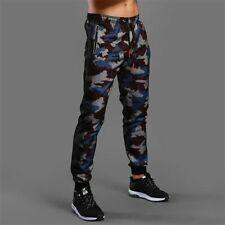 Hombre Camuflaje Pantalones Fitness Militar Cómodo Combate Corredor Nuevo