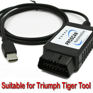 Windows USB Cable Suitable for Triumph Tiger Tool App