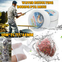 10M 25/37/44mm Mesh PVA Refill Carp Fishing Mesh Net Stocking Bait Wrap