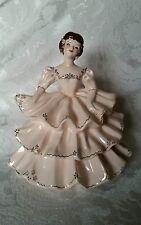 Extremely RARE Florence Ceramics Figurine Diana Powder Box Perfect Mint Cond.