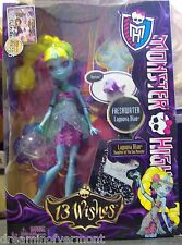 Monster High Doll ~13 Wishes~Lagoona~Daughter of the Sea Monster~ New in Box