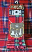 Scottish Kilt Towel Royal Stewart Design