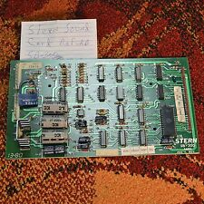 Stern SB-300 SOUND MODULE CARD PCB ~ Reconditioned, Tested, & Guaranteed by RAY!