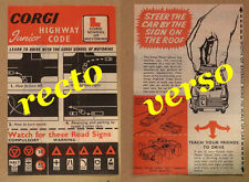 Corgi notice instructions repro pour austin A60 school driving 236 255