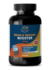 acetyl l carnitine - BRAIN & MEMORY BOOSTER 777mg 1B - dietary supplement
