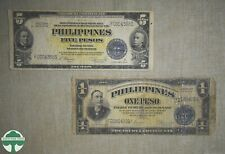 PHILIPPINE VICTORY NOTES 1 & 5 PESO