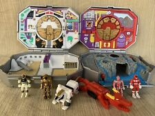 Mighty Morphin Power Rangers Micro Morpher 2 Miniature Play set 1995 Bandai 100%