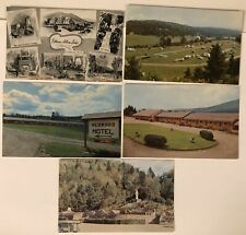 COLEBROOK NH New Hampshire Postcard Lot lodge Mohawk Camping motels Shrine