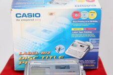 CASIO DISC TITTLE PRINTER