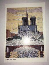 cp paris la cathédrale notre dame de paris Mosaïque