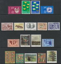 Norway - 1976/82, 18 x Issues - MNH