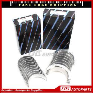 Main Rod Bearings Fits 95-09 Buick Pontiac Oldsmobile Chevrolet 3.8L Cu.23 OVH
