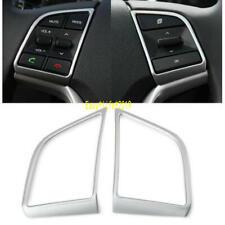 FOR Hyundai Tucson  2017 - 2019 ABS  Steering Wheel Button Cover trim