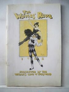THE WRITERS' REVUE Playbill LUPINO LANE / LILA LEE / COLLEEN MOORE LA 1922