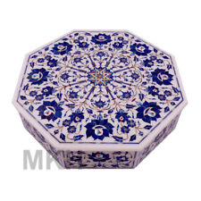 Jewelry Boxes Marble Inlay Box Handmade Antiques Pietra Dura Marquetry Mosaic