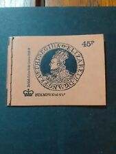 More details for 1974 december 45p stitched booklet ds2a orange/brown cover. mint condition. sale