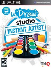 PS3 PlayStation 3 Udraw Studio: Instant Artist - Game Only PREOWNED Boxed Game