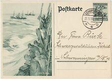 POSTKARTE DEUTSCHES REICH 1938 - INTERO POSTALE ILLUSTRATO