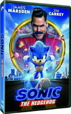 Sonic The Hedgehog (Dvd,2020) New* Free Shipping!