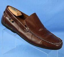 """Tommy Hilfiger """"Ramsey"""" Brown Moc Toe Driving Shoes Loafers Mens Sz US 10.5 M"""